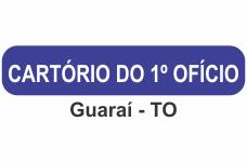 Cartório do 1º ofício Guarai - TO