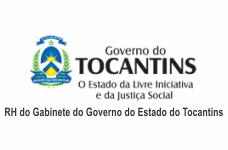 RH do Gabinete do Governo do Estado do Tocantins